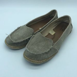 Levi's canvas slip ons